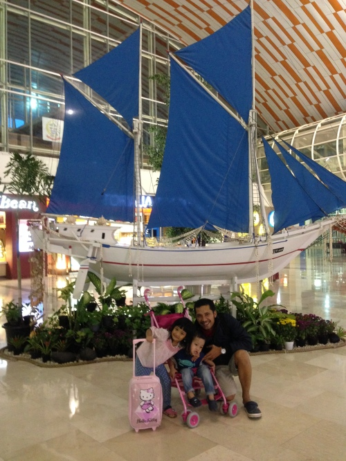 @ Sultan Hasanuddin Airport, Makassar